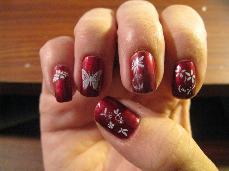 30 Best Stamping Nail Art Images On Pinterest Design Ideas Gel