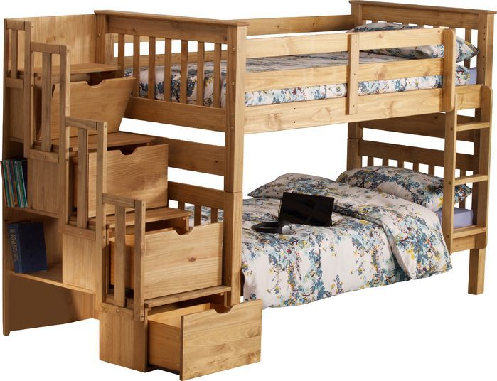 Mission Bunk Bed with Storage