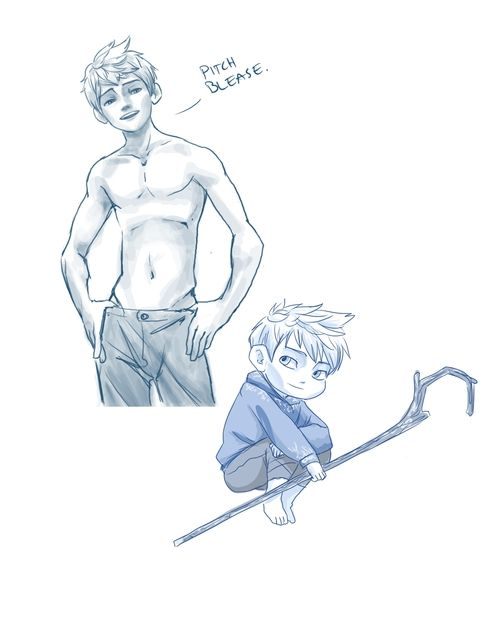 shirtless jack frost by *NicoleFrost on deviantART OMG I love Jack Frost he is soo hot