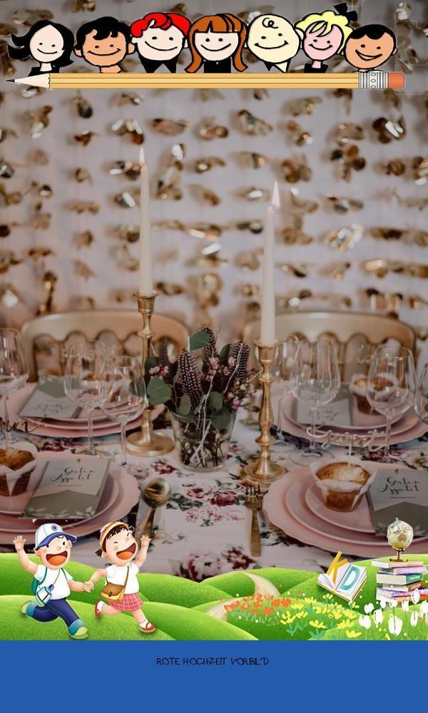 Good 13 Rote Hochzeit Vorbild Wedding Table Decorations Decor