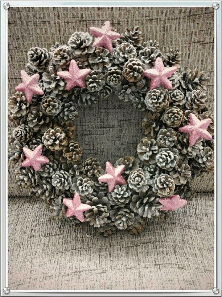 handwerk, manden van papier, papier rozen,  kerst decoratie