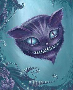 CHESHIRE CAT BY ELIN JOHNSON