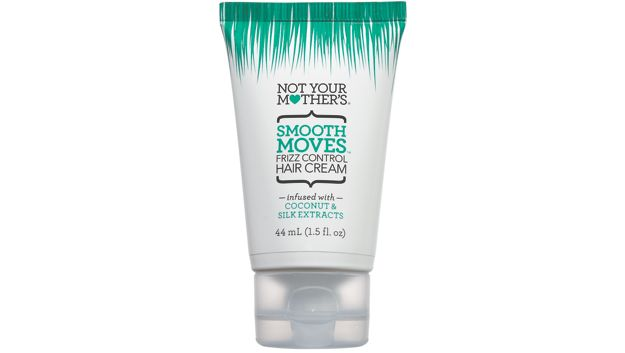 Not Your Mother's Smooth Moves Frizz Control Hair Cream ($6 for 4-oz bottle) Made with coconut & silk extracts, this frizz controlling hair cream really does eliminate fly-aways & controls frizzy hair!