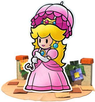 Peach - Paper Mario: Color Splash