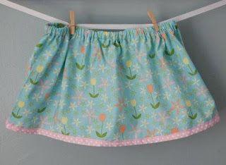 Faldas para nenas tutorial