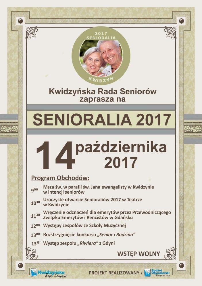 Senioralia 2017, 14.10.2017 r.