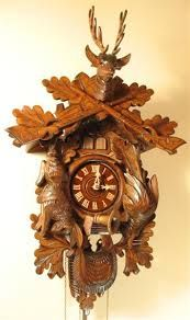 Our exact cuckoo clock from Germany
