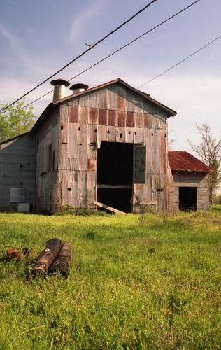 Barn In Texas