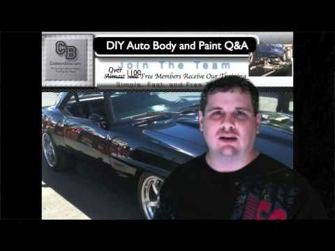 75 best diy how to auto body and paint video images on pinterest how much paint does it take to paint a car diy auto body and paint solutioingenieria Gallery