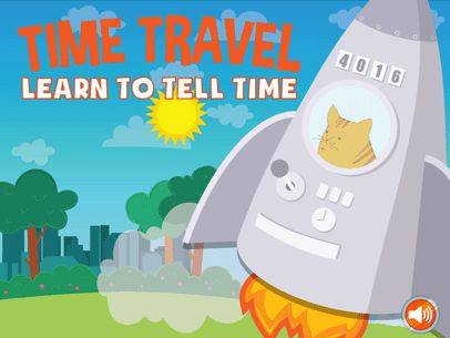 Time Travel Game - Learn to Tell Time