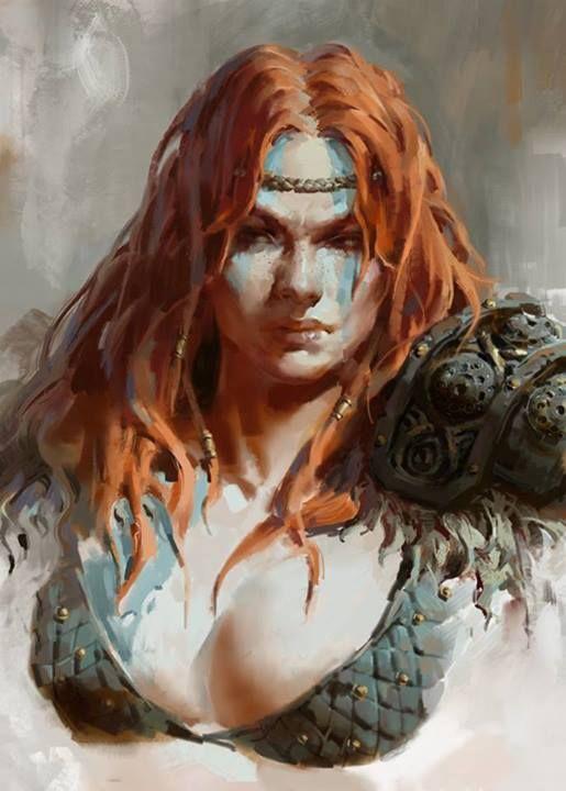 Diablo 3 - Barbarian (female)