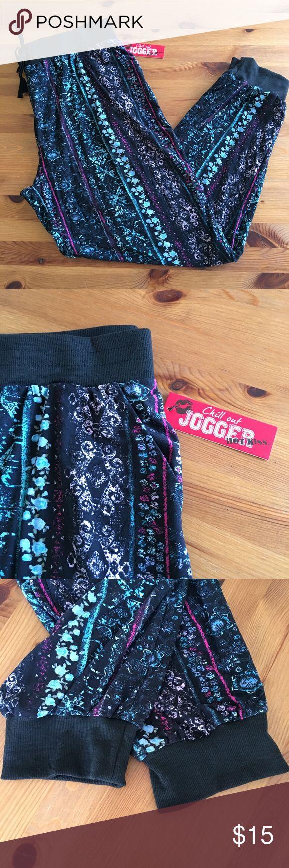 Hot Kiss Jogger Soft Pant Juniors' drawstring Waist jogger pants. Lightweight and so soft! Hot Kiss Pants Track Pants & Joggers