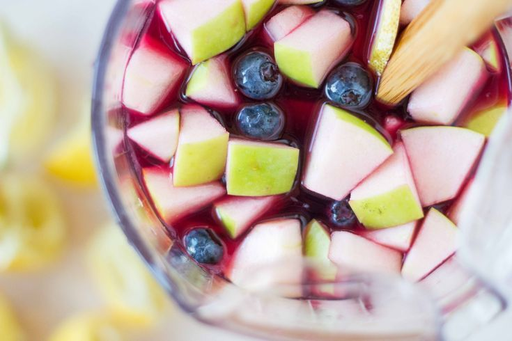 The BEST Red Wine Sangria (Veggie and the Beast Feast)