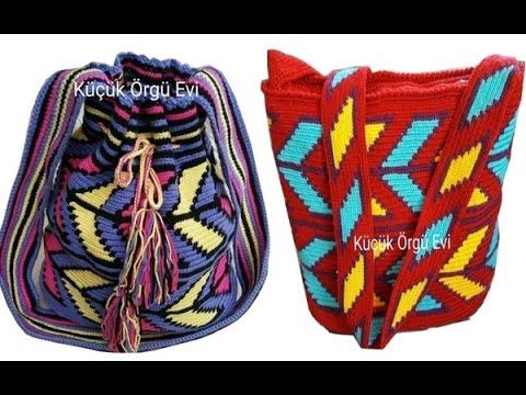 Wayuu Çanta Yapımı_10. BÖLÜM (çanta sapı tığ ile)
