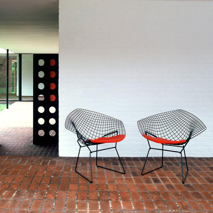 Diamond chair - Harry Bertoia - KNOLL