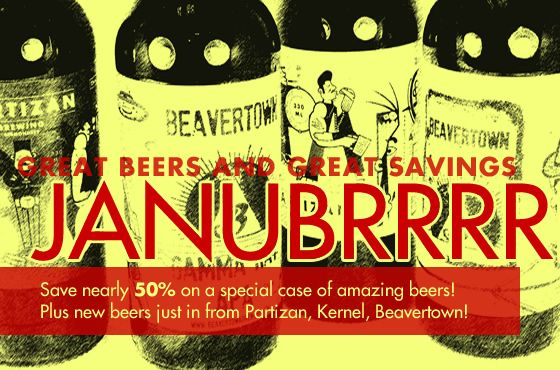 Save nearly 50% on really great beers!