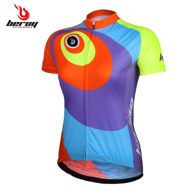 2016 summer bike women jersey ladies mountain bike wear female anti-sweat breathable road bike jerseys clothing #Affiliate