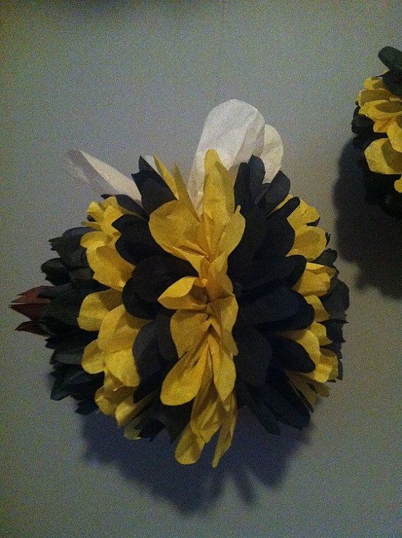 Bumble Bee Pom Pombirthday By Whimsicalpoms On Etsy 575