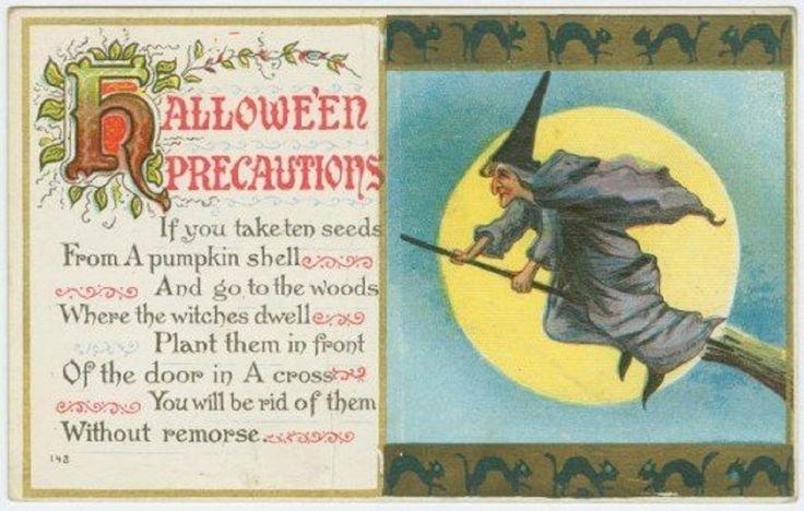 """Halloween Precautions"""