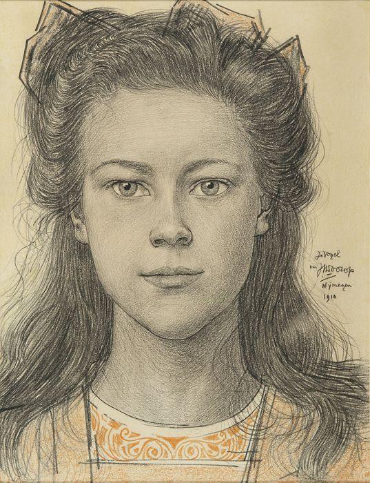 Jan Toorop (Dutch, 1858-1928) Things. Wonderful Things.