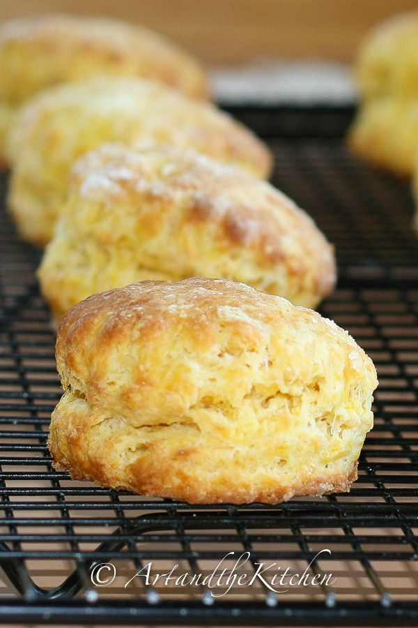 Butternut Squash Scones, crisp on the outside and soft in the inside.