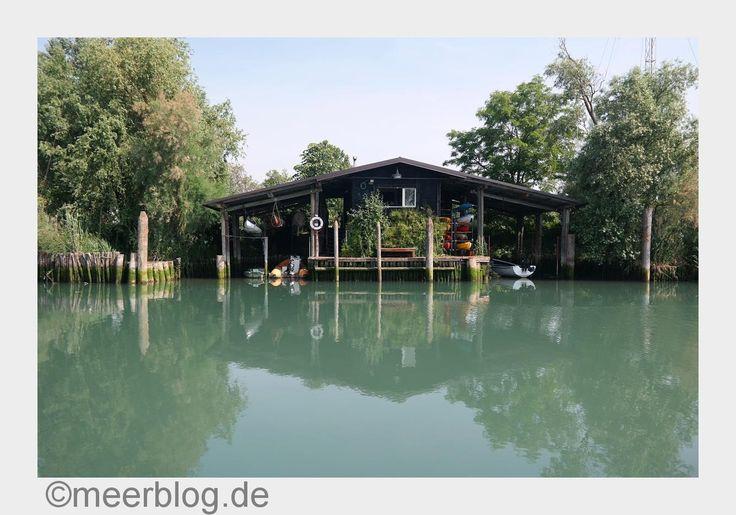 ⚡️Blitzlichter⚡️ Hemingway ist überall, er war an den besten Orten. Sogar in der alten Fischerhütte von Daniele finden wir ihn - mitten in der Lagune von Marano.