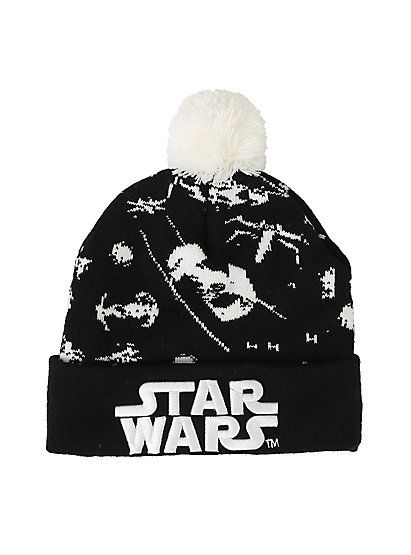Star Wars Tie Fighter Pom BeanieStar Wars Tie Fighter Pom Beanie,: