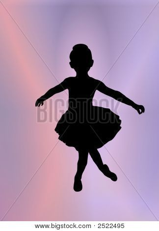 Little Ballerina Silhouette Ballerina Party Pinterest