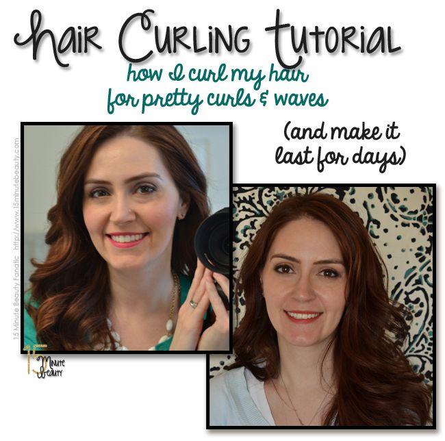 Long Lasting Curls: A Hair Curling Tutorial