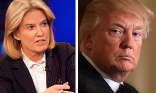 Trump responds to Greta Van Susteren's sudden ousting from MSNBC, unloads on lovebirds, again