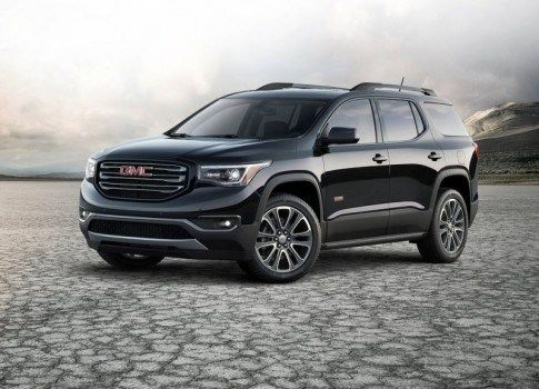Gmc Acadia 2016 2017 Year The Second Generation Of The Suv Gmc