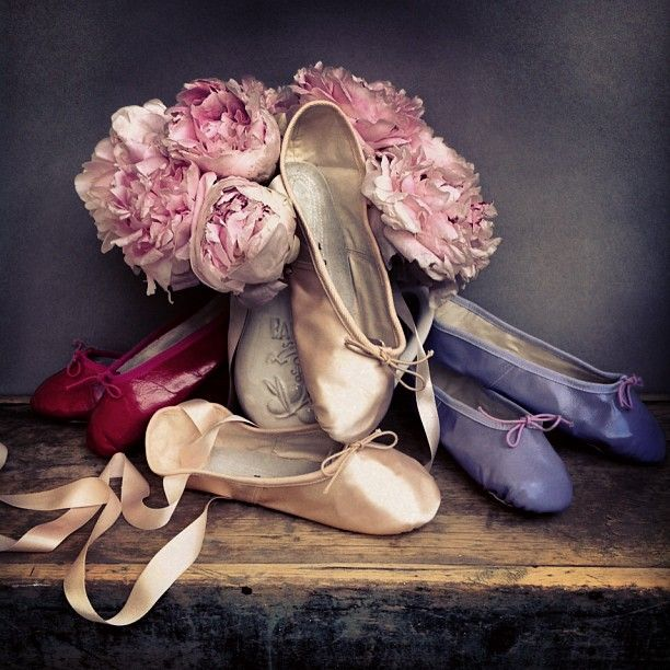 ballet beautiful slippers...