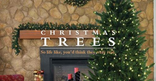 24 Best Artificial Christmas Trees & More Images On Pinterest