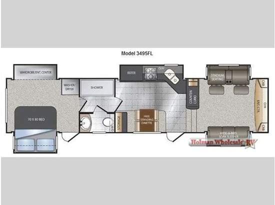 2012 Keystone Rv Alpine Floor Plan Motorhomes Amp Campers