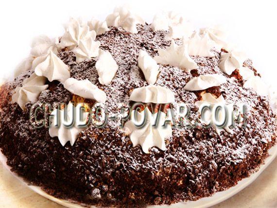 Рецепт торта муравейник или каракулевый