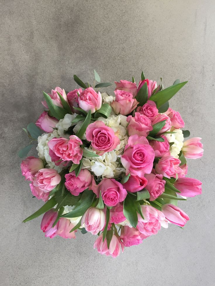 Beautiful custom creations for Valentine's day by Verbena Floral Design www.verbenafloral.com