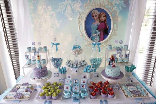 Frozen ( Karlar Ülkesi) Temalı Parti Fikirleri - Neşeli Süs Evim - Ücretsiz Doğum Günü Süsleri