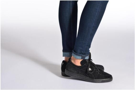 Baskets Suede classic eco W Puma vue portées chaussures