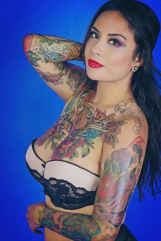 German hottest tattoo chicks