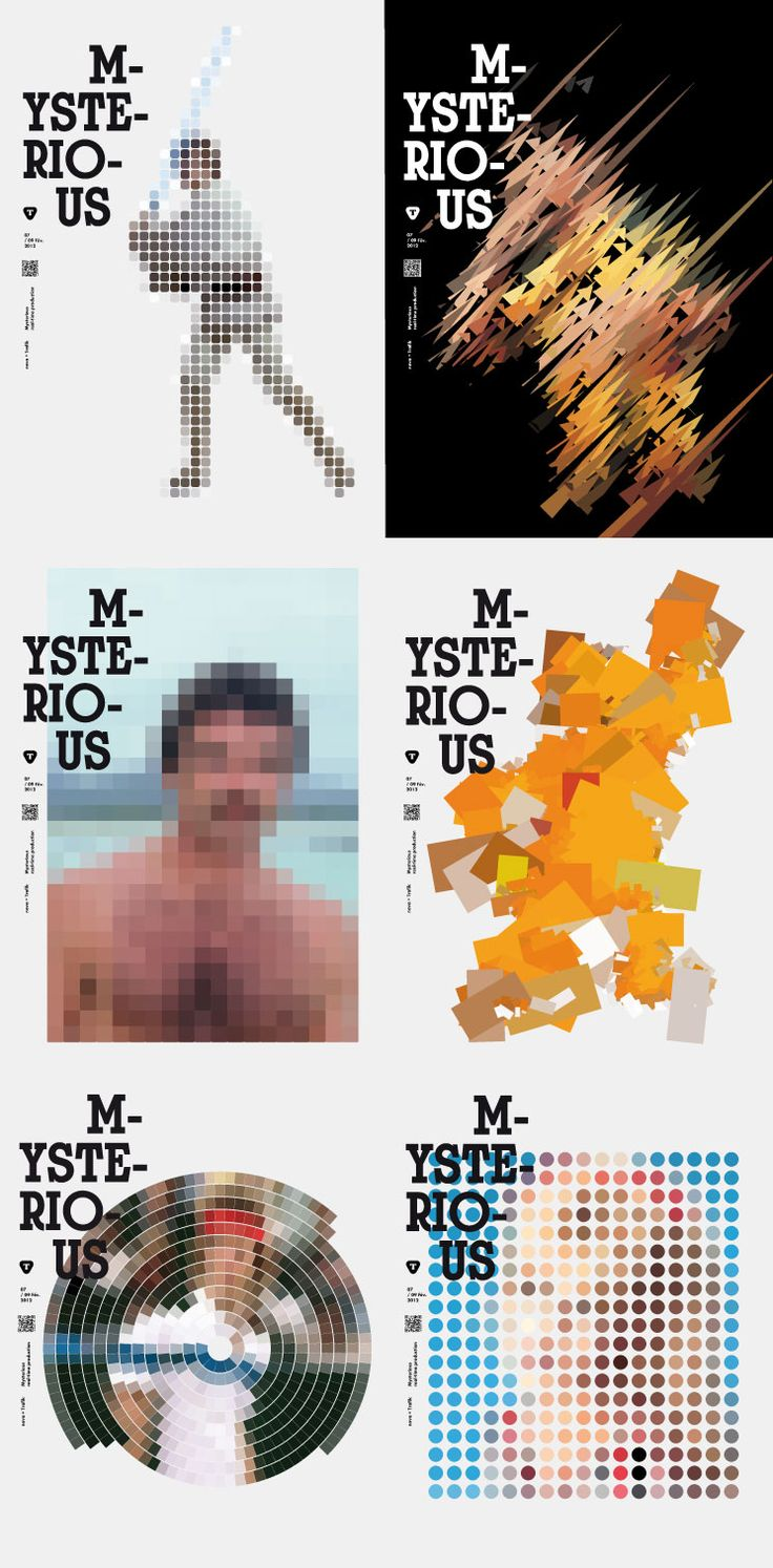 Poster design site - Mysterious Project Trafik Graphic Design Web Site Multi Media Scenography