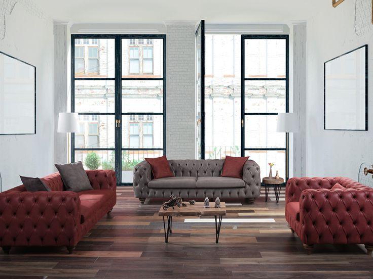 Sönmez Home   Modern Koltuk Takımları   Milano Koltuk Takımı