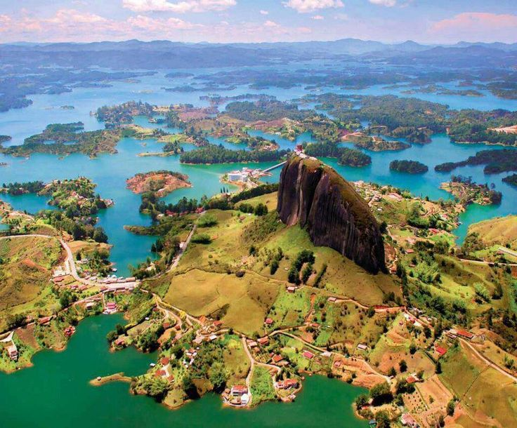 Guatape, Colombia (close to Medellin) a must on the next family vacation!