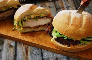 Buttermilk Fried Chicken Sandwich | FaveSouthernRecipes.com