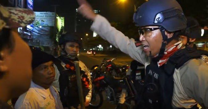 ANEH ! [Video] Sweeping Geng Motor FPI Depok Tiba-tiba Dibubarkan Tim Jaguar