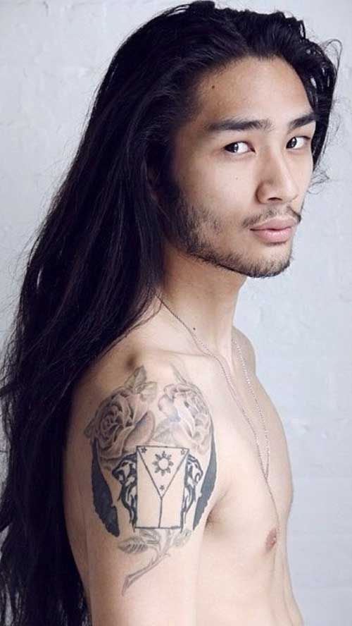 Asian Wavy Hairstyles For Long Hair : Best 25 boys long hair ideas on pinterest hairstyles