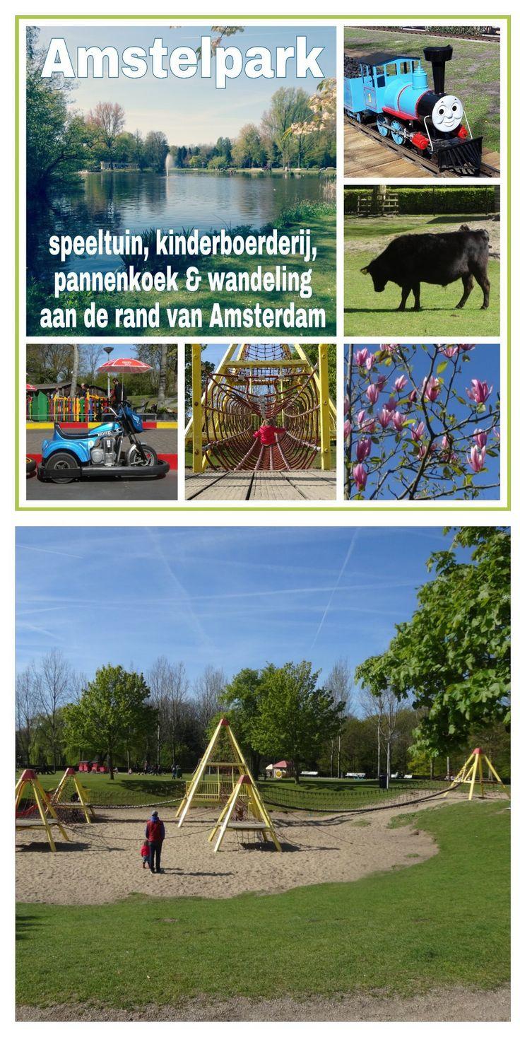 Amstelpark: speeltuin, kinderboerderij, pannenkoek & wandeling aan de rand van #Amsterdam #leukmetkids #buitenveldert #rivierenbuurt