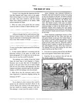 Best War Of Images On Pinterest War Of Teaching - Us history map activities answer key war of 1812