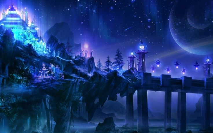 Mystical City | DnD | Pinterest | Beautiful, What's the ...