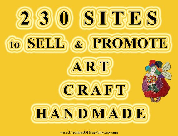 230 sites to sell Art Craft Handmade Best by CreationsOfTrueFairy
