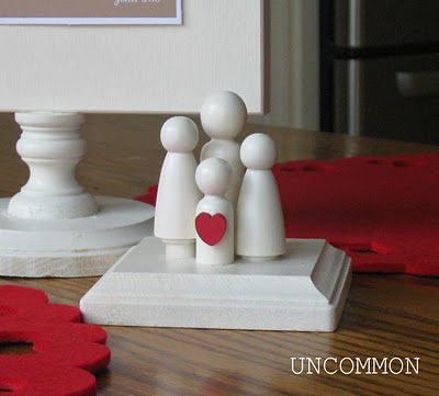 peg family: People Families, Peg People, Free Valentine, Crafts Ideas, Valentine Printables, Peg Families, Peg Dolls, Uncommon Design, Diy Projects